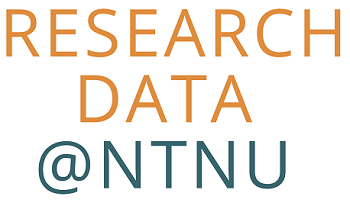 logo: research data @ntnu
