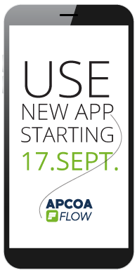 Use the new payment app starting 17.september