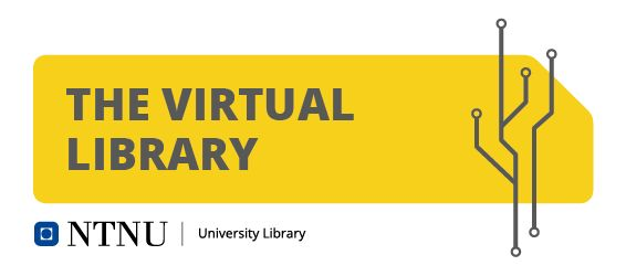 Banner for Det virtuelle biblioteket