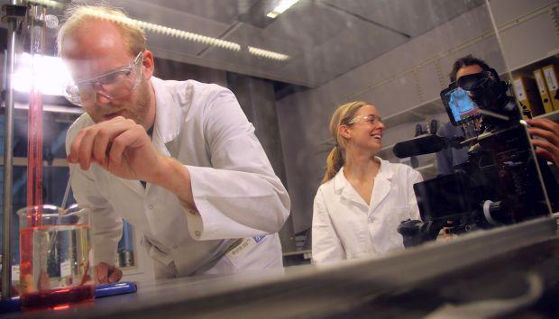 Som en av prosjektlederne bak Virtuelle kjemiske rom er Hilde Lea Lein nå merittert.